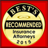 Best Recommended Insurance Attorneys 2015